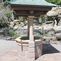Snow White Grotto Wishing Well
