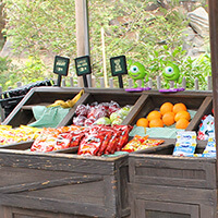 Fruit Stand in Critter Country