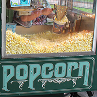 Popcorn in New Orleans Square