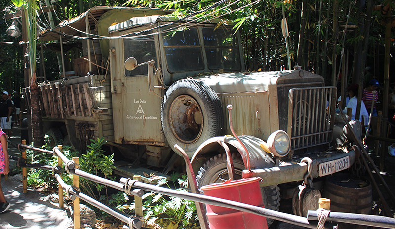 Raiders of the Lost Ark Truck