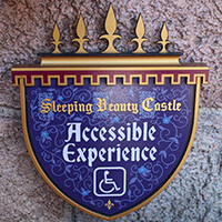 Sleeping Beauty Castle Accessible Experience