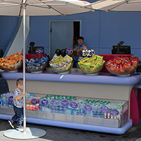 Fruit Stand in Tomorrowland