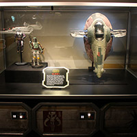 Star Wars Bounty Hunter Display