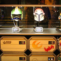 Star Wars Light Side Helmet Display