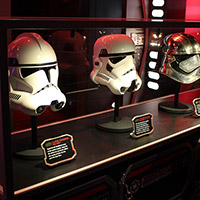 Star Wars Dark Side Helmet Display