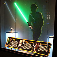 Star Wars Light Side Lightsaber Display