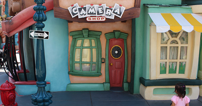 Toontown Camera Shop