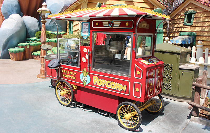 Popcorn in Toontown
